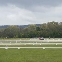 Look at all the Dressage arenas , 8 of them