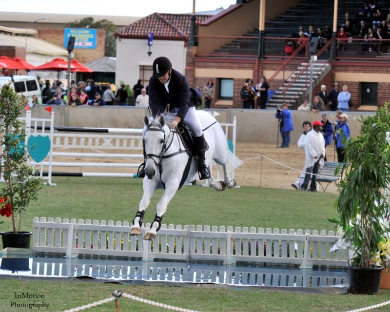 Wes and LH Warsaw in world Cup Adelaide Royal