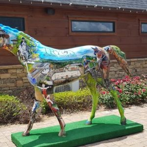 The WEG Art Horse honours the multidisciplinary nature of the FEI WEG