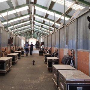Harley Brown Equestrian stable block