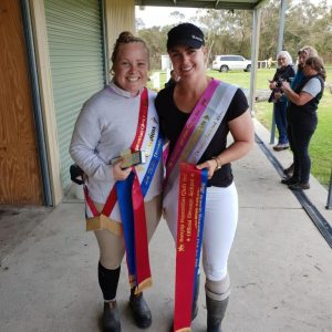 Sarah & Liana Level 1 winners