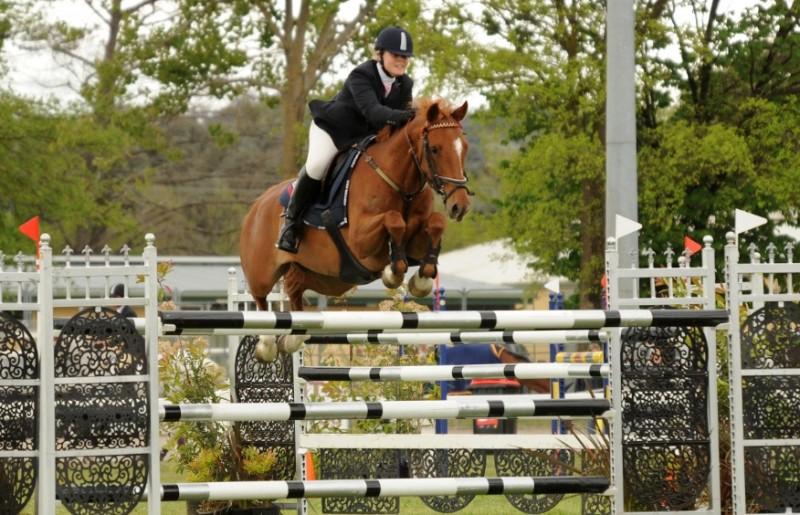 Sarah & LH Folly Young Rider Championships
